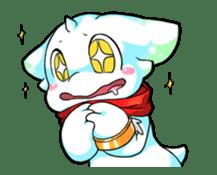 """Little dragon """"LC"""" Sticker sticker #5803260"""