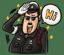 Police I love you sticker #5804975