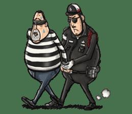 Police I love you sticker #5804977