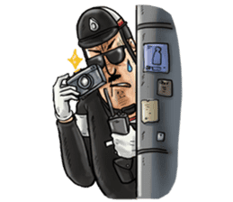 Police I love you sticker #5804980