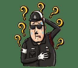 Police I love you sticker #5804993