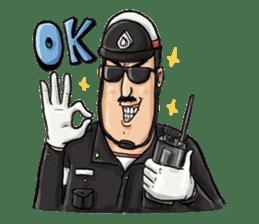 Police I love you sticker #5804994