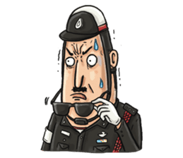 Police I love you sticker #5804996