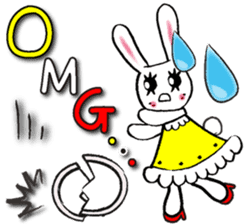 PRINCESS RABBIT FROM JAPAN sticker #5807333