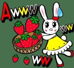 PRINCESS RABBIT FROM JAPAN sticker #5807358