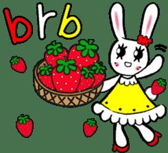 PRINCESS RABBIT FROM JAPAN sticker #5807360