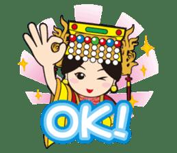 Lukang Q Mazu anytime paste sticker #5808224