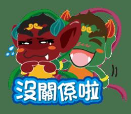 Lukang Q Mazu anytime paste sticker #5808229