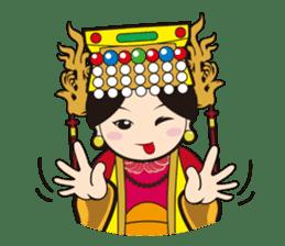 Lukang Q Mazu anytime paste sticker #5808235