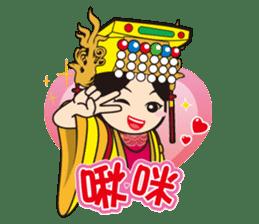 Lukang Q Mazu anytime paste sticker #5808236