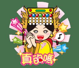 Lukang Q Mazu anytime paste sticker #5808242