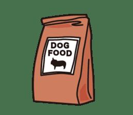 French Bulldog BOO (pied) sticker #5808514