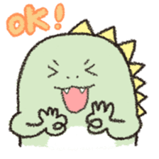 Dinosaur Andre sticker #5811373