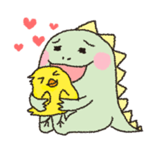 Dinosaur Andre sticker #5811391