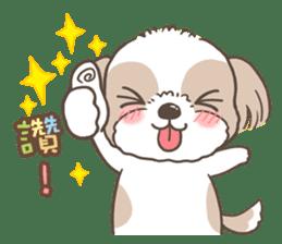 Sarah & King (Lovely Shih Tzu) sticker #5814842