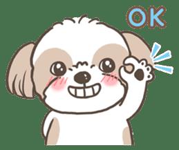 Sarah & King (Lovely Shih Tzu) sticker #5814843