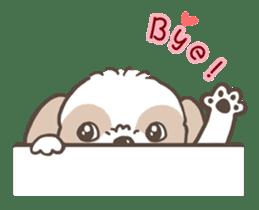 Sarah & King (Lovely Shih Tzu) sticker #5814846