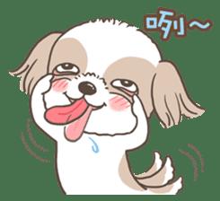 Sarah & King (Lovely Shih Tzu) sticker #5814847