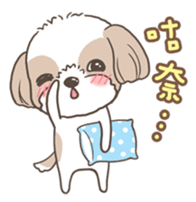 Sarah & King (Lovely Shih Tzu) sticker #5814848