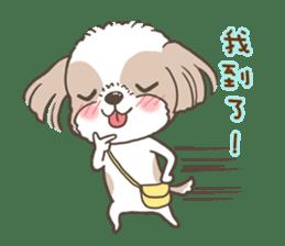 Sarah & King (Lovely Shih Tzu) sticker #5814854