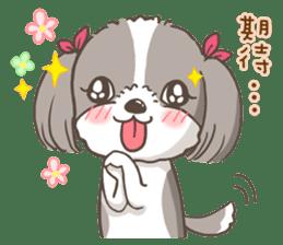 Sarah & King (Lovely Shih Tzu) sticker #5814860