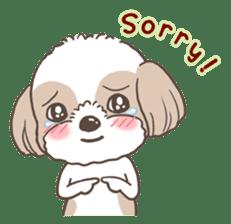 Sarah & King (Lovely Shih Tzu) sticker #5814863