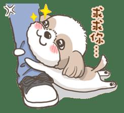 Sarah & King (Lovely Shih Tzu) sticker #5814867