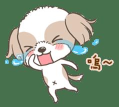 Sarah & King (Lovely Shih Tzu) sticker #5814871