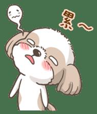 Sarah & King (Lovely Shih Tzu) sticker #5814874