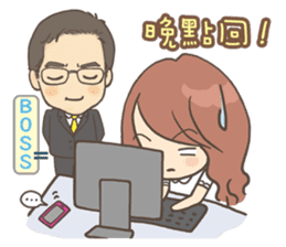 Sarah & King (Lovely Shih Tzu) sticker #5814881