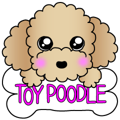 The Toy Poodle stickers