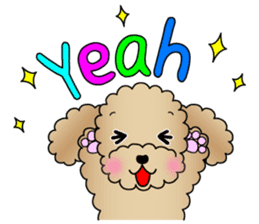 The Toy Poodle stickers sticker #5817085