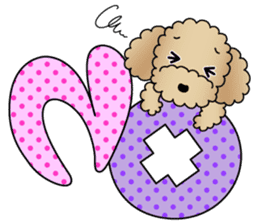 The Toy Poodle stickers sticker #5817088