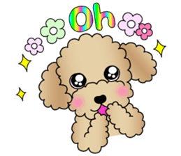 The Toy Poodle stickers sticker #5817089