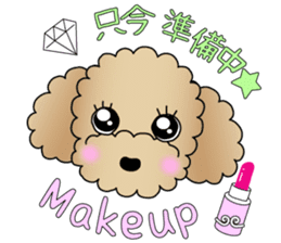 The Toy Poodle stickers sticker #5817092
