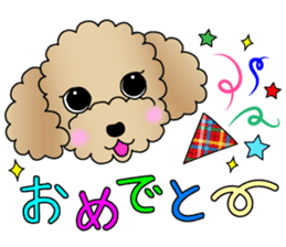 The Toy Poodle stickers sticker #5817094
