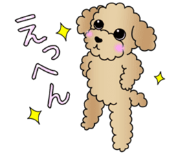 The Toy Poodle stickers sticker #5817097