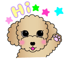 The Toy Poodle stickers sticker #5817098