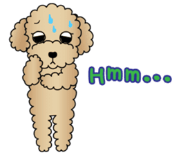The Toy Poodle stickers sticker #5817101
