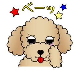 The Toy Poodle stickers sticker #5817102