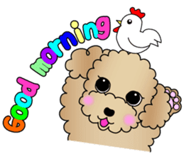 The Toy Poodle stickers sticker #5817113