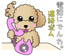The Toy Poodle stickers sticker #5817117