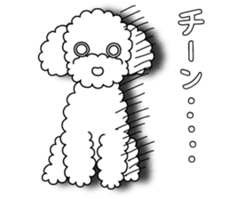 The Toy Poodle stickers sticker #5817119