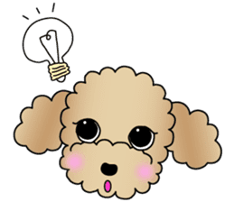 The Toy Poodle stickers sticker #5817129