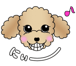 The Toy Poodle stickers sticker #5817131