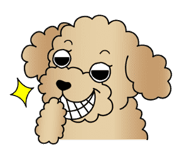 The Toy Poodle stickers sticker #5817133