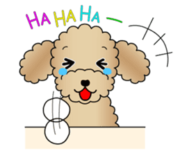 The Toy Poodle stickers sticker #5817135