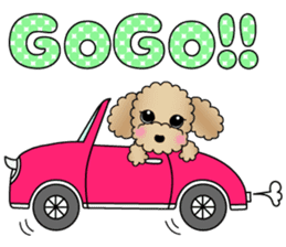 The Toy Poodle stickers sticker #5817137