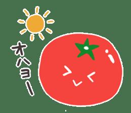 I LOVE TOMATO sticker #5819140