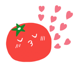 I LOVE TOMATO sticker #5819145